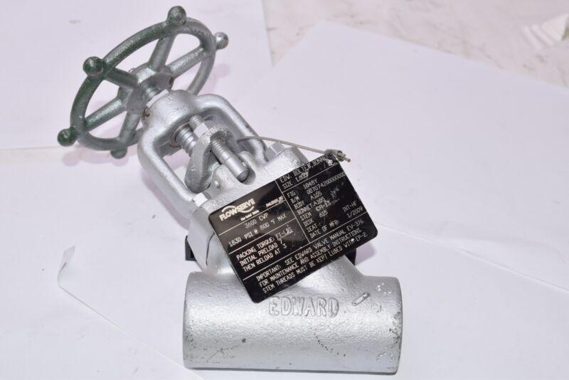 NEW Flowserve 3600 CWP, Cast Steel Valve, 1830 PSI