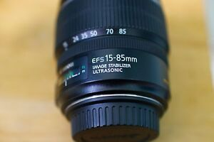 Canon EF-S 15-85mm f/3.5-5.6 IS USM Lens w. Hoya UV Filter & Hood Mortdale Hurstville Area Preview
