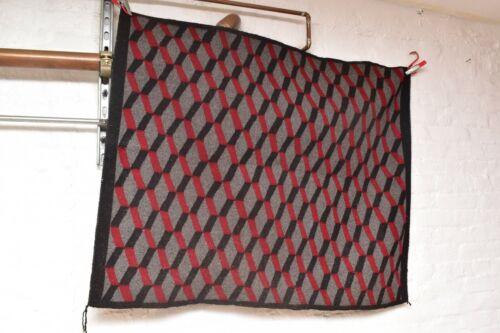"VTG Navajo Rug native american indian weaving Textile Antique 46""x38"" GEOMETRIC."