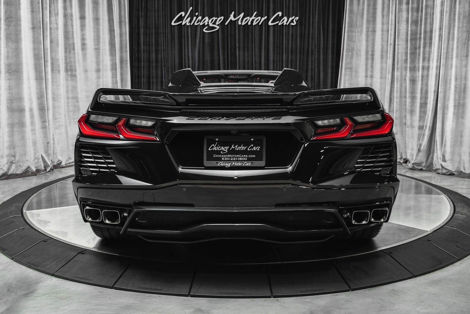 2021 Black Chevrolet Corvette Convertible Z51   C7 Corvette Photo 4