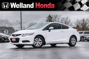 2012 Honda Civic LX | ONE OWNER | HID HEADLAMPS