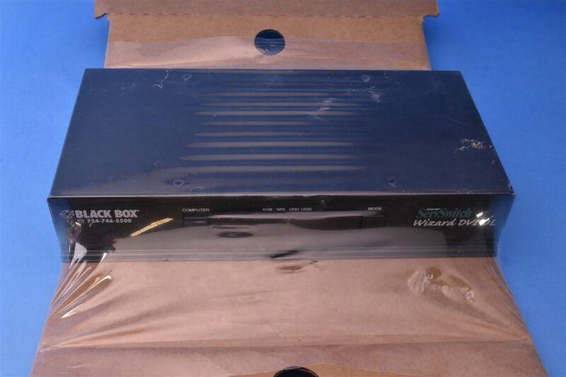 *STILL IN FACTORY PACKAGING* Black Box ServSwitch DVI DL #KV2004A