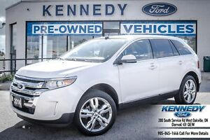 2014 Ford Edge LimitedAWD Leather Sunroof Navi