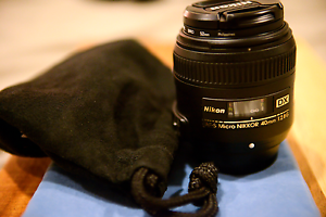 Nikon AF-S DX 40mm f/2.8G Micro Lens - RRP $429 Southport Gold Coast City Preview