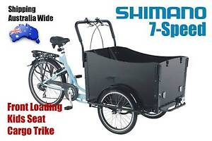 Front Loading Grandma Trike Adult Tricycle Cargo Bike 7Sp Shimano Kings Park Blacktown Area Preview