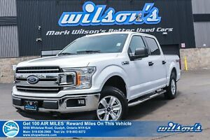 2018 Ford F-150 XLT Crew Cab 4x4 2.7L Ecoboost, Tow Package, Rea