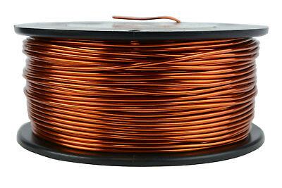 Temco Magnet Wire 15 Awg Gauge Enameled Copper 1.5lb 150ft 200c Coil Winding