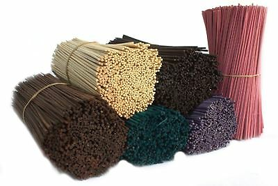 Reed Fragrance Oil Diffuser Replacement Sticks Bamboo Rattan - 24cms - 6 Colours