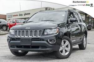2016 Jeep Compass HIGH ALTITUDE+4X4+ROOF+LTHR+MORE