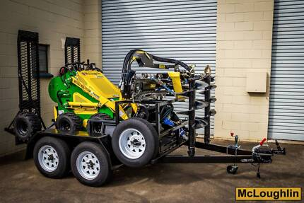 McLoughlin Bush Ranger Mini Loader Darra Brisbane South West Preview