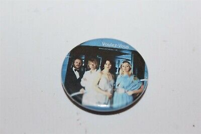 Abba Voulez-Vous Small Badge Music Collectable