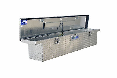 Truck Tool Box Low Profile Design Storage Organizer Diamond Plate Aluminum Style Aluminum Diamond Plate Tool Box