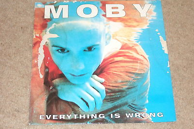 Moby ‎– Everything Is Wrong LP    1995    OLD SKOOL...RARE!!