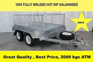 10x5 FULLY TANDEM HOT DIP GALVANISED TRAILER 2000 KG ATM Dandenong South Greater Dandenong Preview