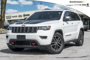 2017 Jeep Grand Cherokee Trailhawk+NAV+ROOF+LDED