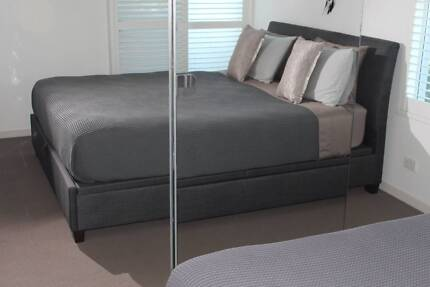 Awesome King Size Bed and Mattress with Under bed Storage