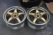 18x7.5 +45 Rays Gram Lights 57PRO wheels - 5x100 JDM Subaru WRX Bayswater Knox Area Preview