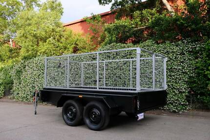 Heavy Duty 10x5 Tandem Box Trailer with Galvanised Cage FINANCE A Penrith Penrith Area Preview