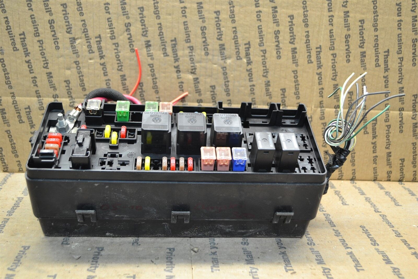 Used 2005 Chrysler 300 Computers Chips Cruise Control And Related 2009 300c Fuse Box 2010 Junction Oem P04607330ac Module 555 6a1