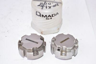 Pack Of 2 Amada No. 8 Press Brake Punch Die Tooling Cnc Tooling