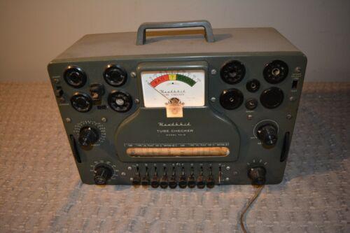 Vintage Heathkit TC-3 Tube Tester  For Display, Repair Parts Service