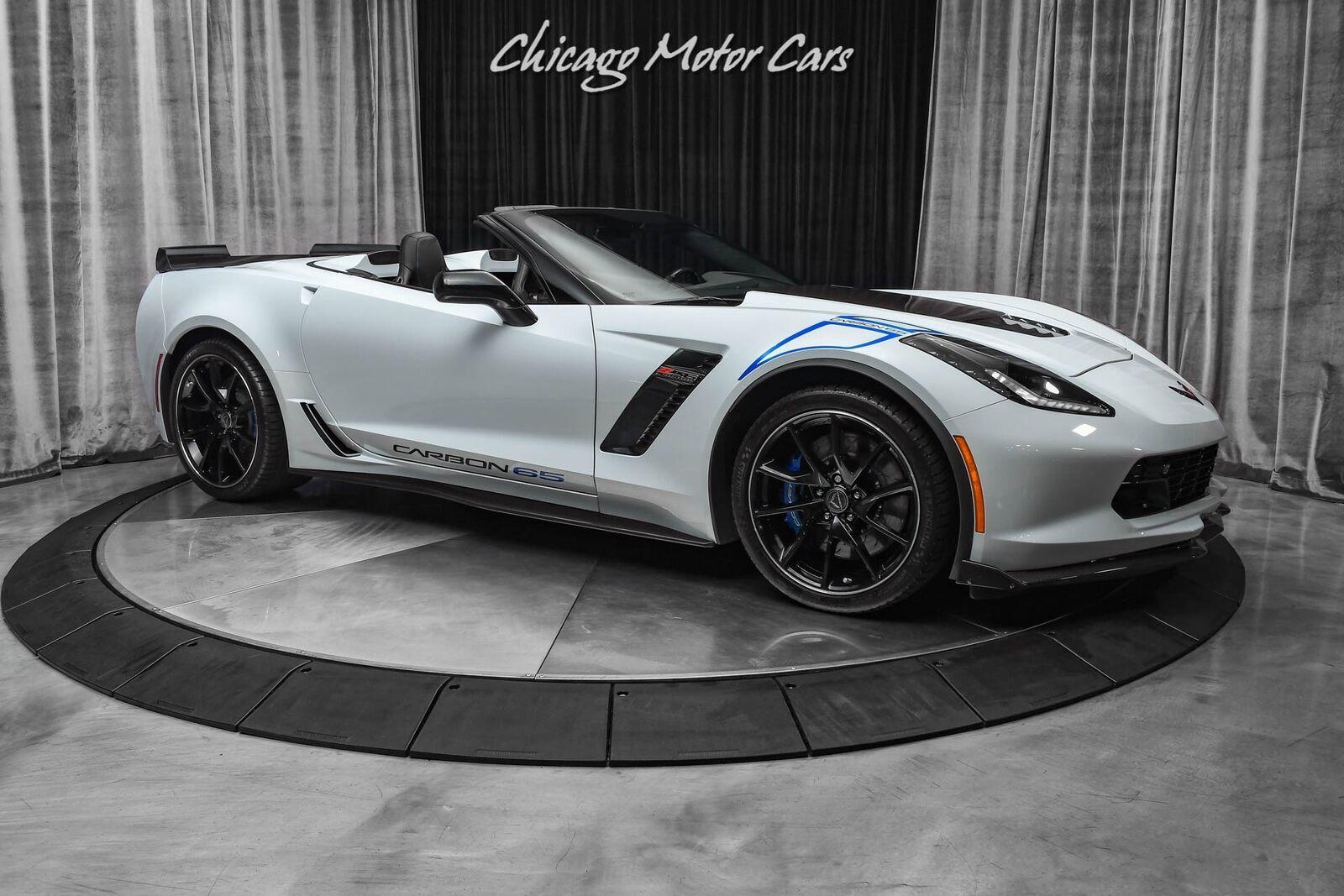 2018 White Chevrolet Corvette Z06 3LZ | C7 Corvette Photo 6