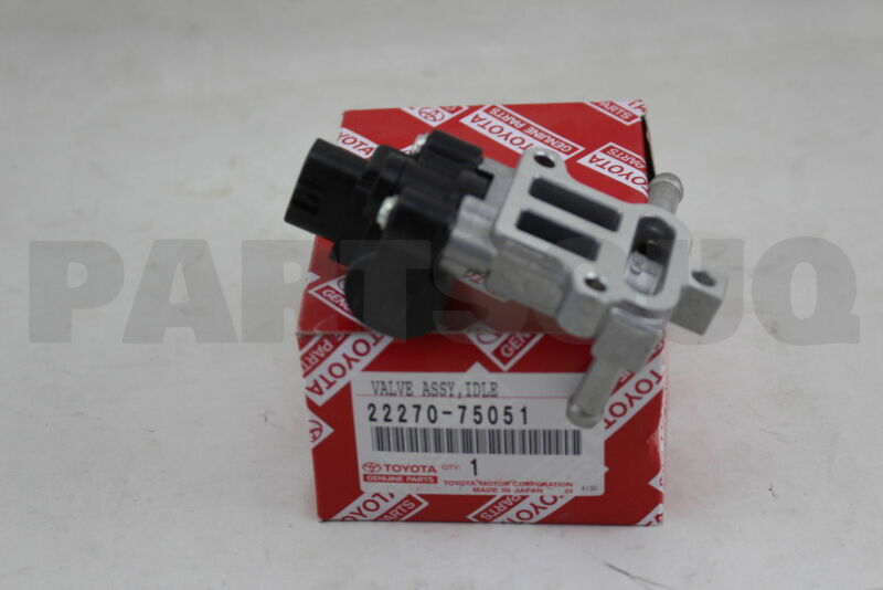 2227075051 Genuine Toyota Valve Assy, Idle Speed Control(for Thlottle Body)
