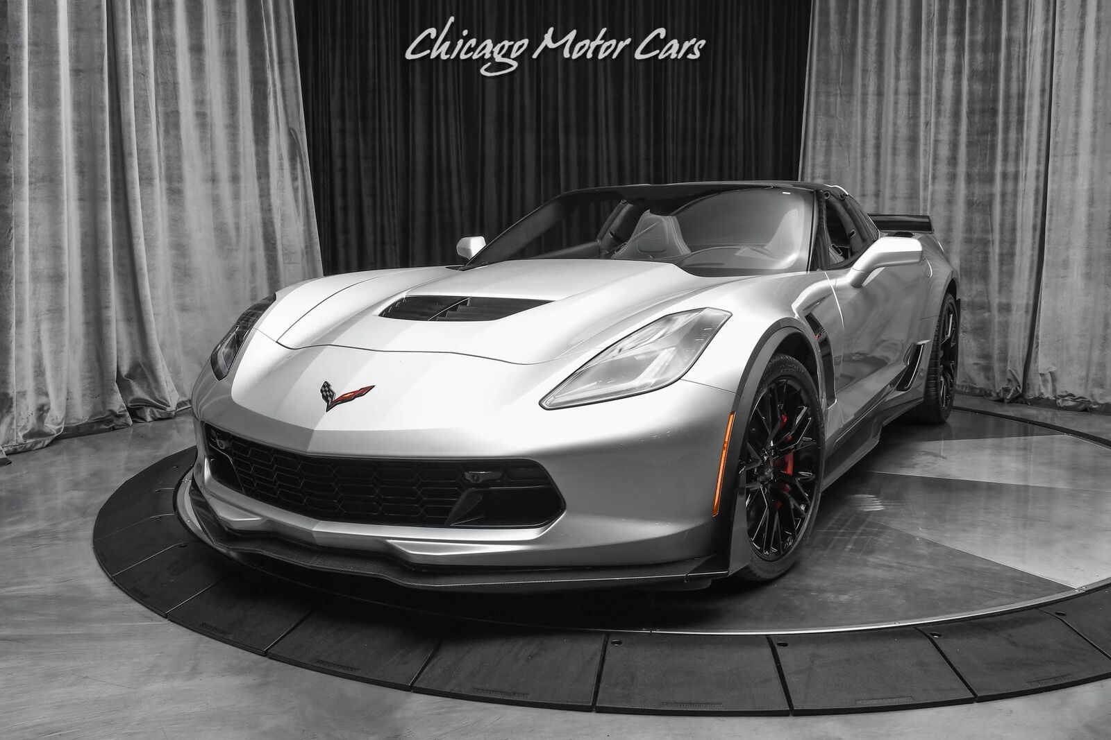 2016 Silver Chevrolet Corvette Z06 3LZ   C7 Corvette Photo 2