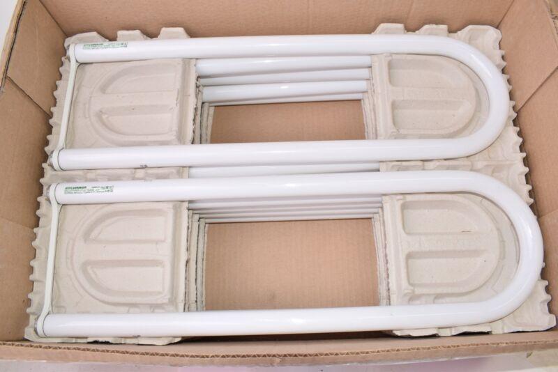 Lot of 10 NEW SYLVANIA FB032/741/6/ECO 32 Watt T8 U-Bent Fluorescent Light Bulb,