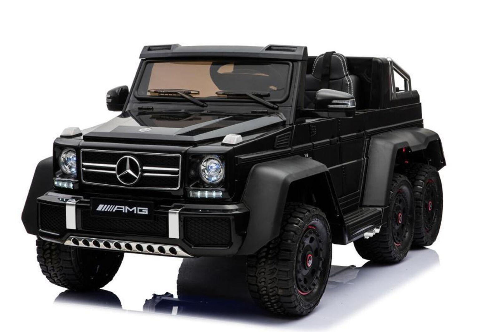 Mercedes Elektroauto G63 XXL für Kinder und Erwachsene 6x Motor