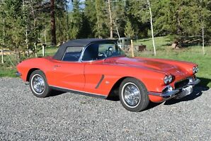 1962 Beautifully Restored Corvette Convertible