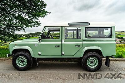 2005 Land Rover Defender 110 County Station Wagon Td5 Heritage Recreation (9 sea