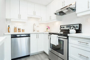 STUNNING 1  BDRM UNITS AVAILABLE, INSUITE LAUNDRY & AC!!!