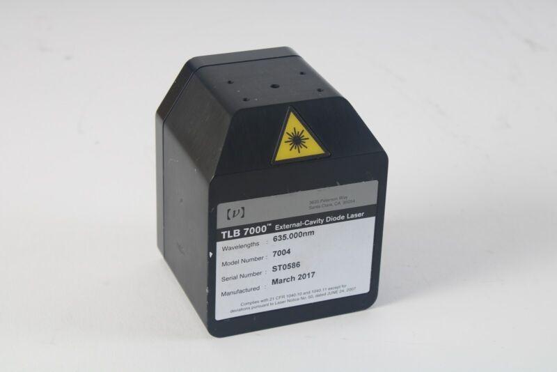 Newport / New Focus 7004 Tunable External-Cavity Diode Laser TLB 7000