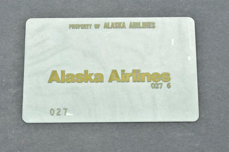 Alaska Airlines Validation Plate
