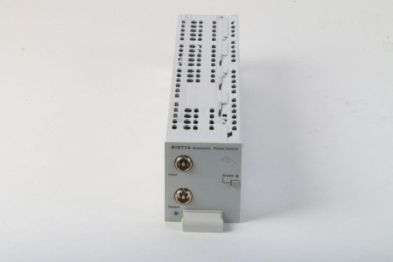 Agilent HP Keysight 81577A Variable Optical Attenuator Module
