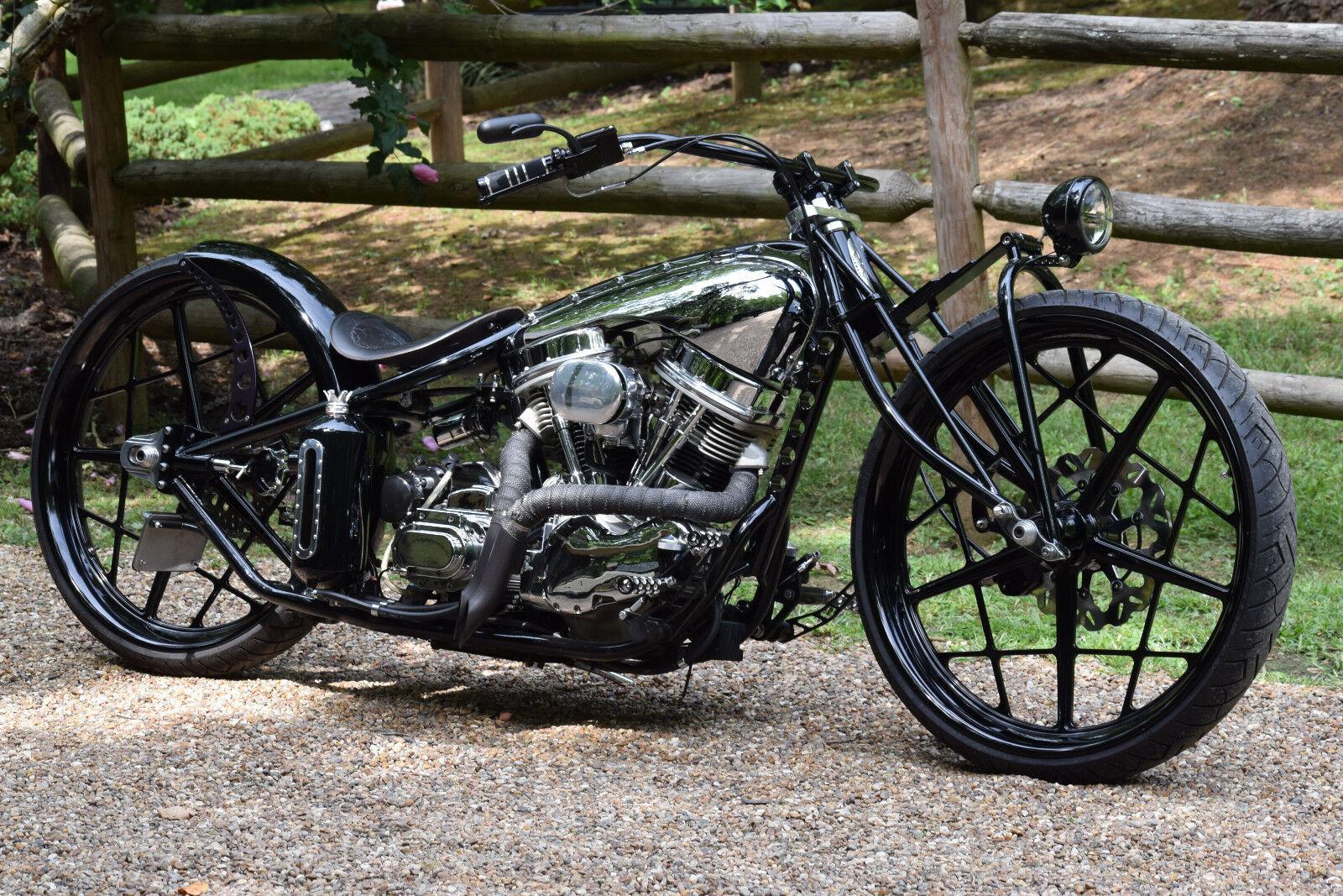 2016 Custom Built Motorcycles Bobber  CUSTOM HOT ROD BOBBER BOARDTRACK PANHEAD