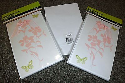 Butterfly with Bow & Vellum Printable Shower Invitations 15ct. - Gartner - NEW