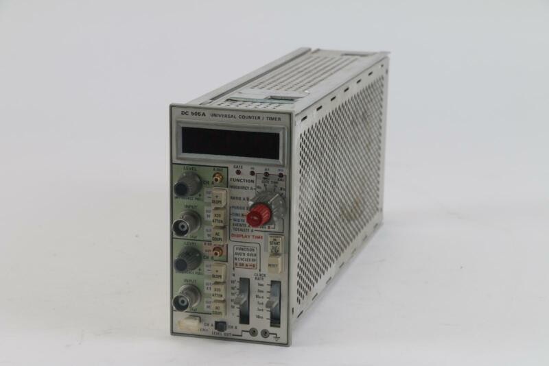 Tektronix DC 505 a Universal Plug-in Counter Timer With Option 1