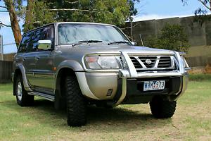 GU Nissan Patrol  Ti 1998 (Dual Fuel) Eumemmerring Casey Area Preview