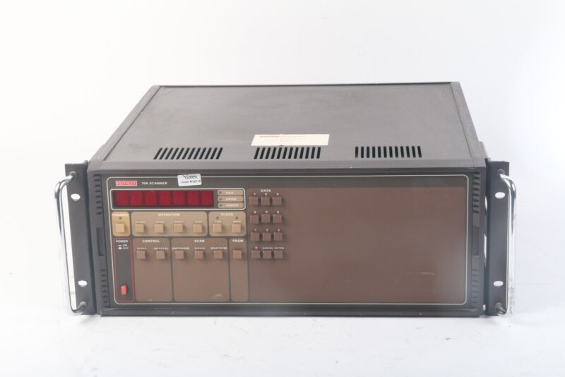 Keithley 706 Scanner/Data Logger System- No Cards
