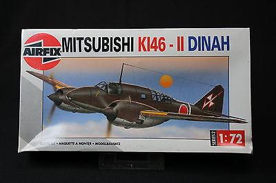 XK154 AIRFIX 1/72 maquette avion MITSUBISHI KI46 II DINAH Ref 02016 serie 2 1994