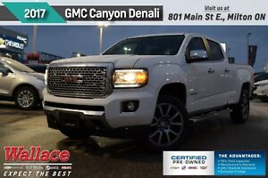 2017 GMC Canyon DENALI/SUNROOF/DIESEL/HD TRILR PKG/HTD STS