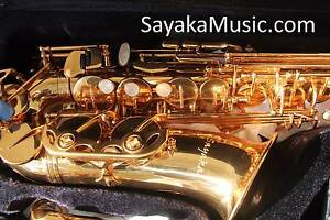 SAYAKA Selmer-Style Gold Lacquer Alto Saxophone Burwood Whitehorse Area Preview