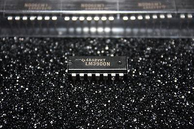 Ti Lm3900n Quadruple Norton Operational Amplifier Lm3900