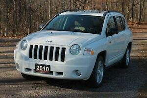 2010 Jeep Compass Sport/North 4x4   Sunroof   CERTIFIED