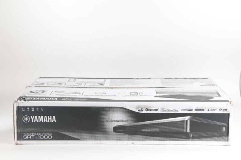 Yamaha Home Theater Speaker System Black SRT-1000