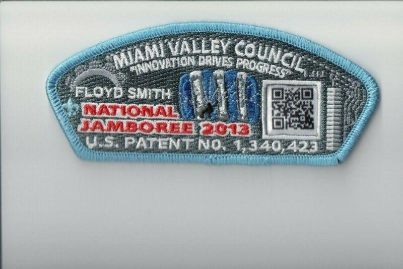 Miami Valley Council 2013 JSP Bar Code patch (Blue)