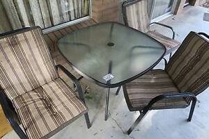 garden table and seats sets Kenmore Brisbane North West Preview