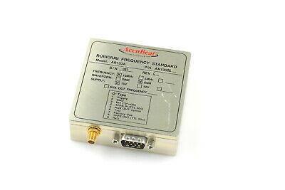 Accubeat Rubidium Frequency Standard Ar133 08 10mhz Sqr 15v